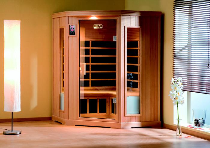 element infrarot kabinen mit keramik strahler und fl chenstrahler von t scharner gmbh aus lehre. Black Bedroom Furniture Sets. Home Design Ideas